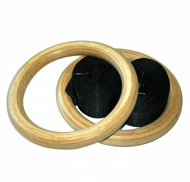 Dřevěné gymnastické kruhy