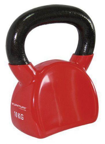 Tunturi Vinyl Kettlebell 10 kg - červená